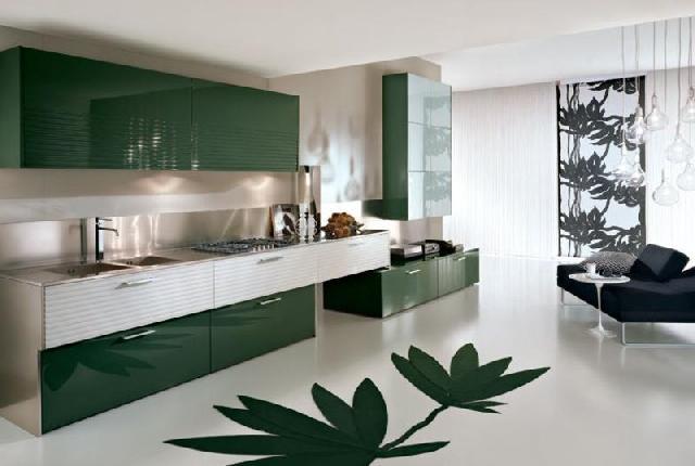 Комерційний лінолеум добре підійде для вашої кухні