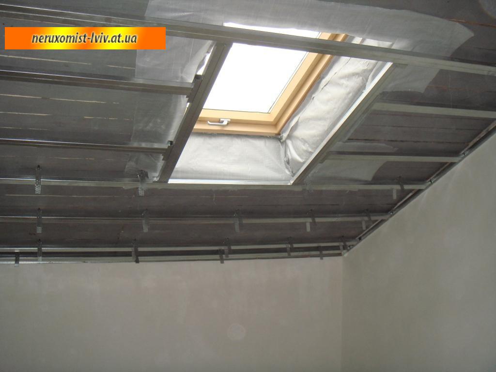 Гипсокартонные конструкции (потолок) - стелі - каталог стате.